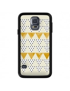 Coque Triangles Or Garland Gold pour Samsung Galaxy S5 - Pura Vida