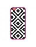 Coque Diamond Chevron Black and White pour iPhone 5C - Pura Vida