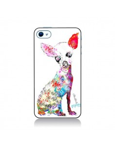 Coque Chien Chihuahua Graffiti pour iPhone 4 et 4S - Bri.Buckley