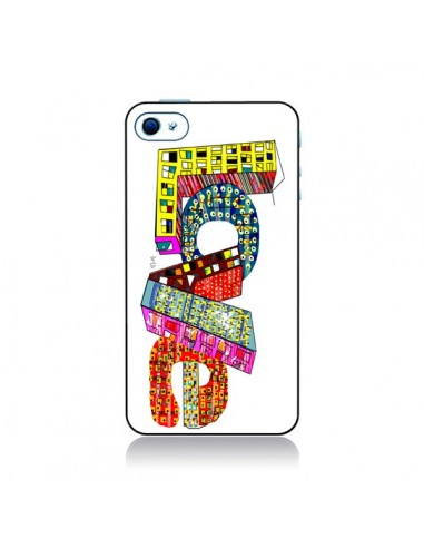 Coque Love Street pour iPhone 4 et 4S