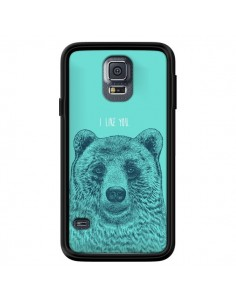 Coque Bear Ours I like You pour Samsung Galaxy S5 - Rachel Caldwell