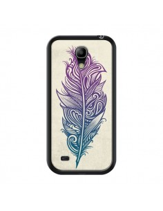 Coque Feather Plume Arc En Ciel pour Samsung Galaxy S4 Mini - Rachel Caldwell