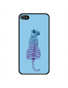 Coque iPhone 4 et 4S Tiger Tigre Jungle - Rachel Caldwell