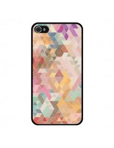 Coque Azteque Pattern Triangles pour iPhone 4 et 4S - Rachel Caldwell