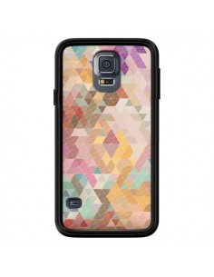Coque Azteque Pattern Triangles pour Samsung Galaxy S5 - Rachel Caldwell