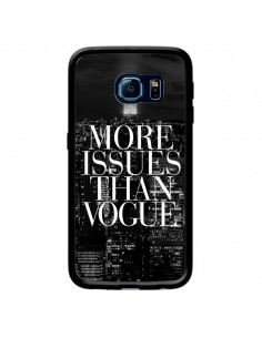 Coque More Issues Than Vogue New York pour Samsung Galaxy S6 Edge - Rex Lambo