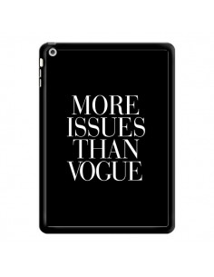 Coque More Issues Than Vogue pour iPad Air - Rex Lambo