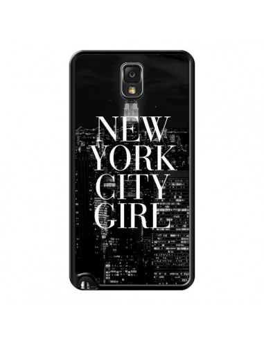 Coque New York City Girl pour Samsung Galaxy Note III - Rex Lambo