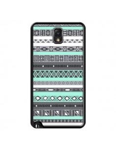Coque Azteque Aztec Bleu Pastel pour Samsung Galaxy Note III - Rex Lambo