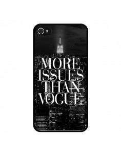 Coque iPhone 4 et 4S More Issues Than Vogue New York - Rex Lambo