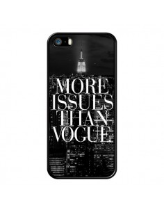 Coque iPhone 5/5S et SE More Issues Than Vogue New York - Rex Lambo