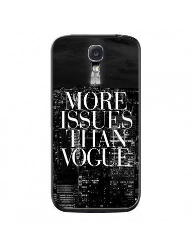 Coque More Issues Than Vogue New York pour Samsung Galaxy S4 - Rex Lambo