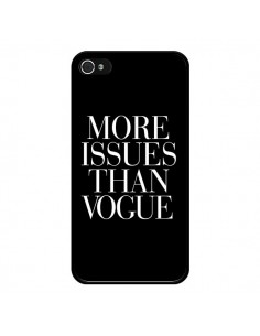 Coque More Issues Than Vogue pour iPhone 4 et 4S - Rex Lambo