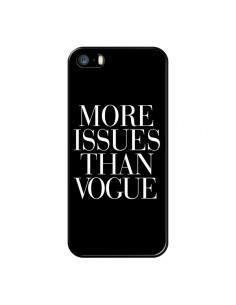 Coque iPhone 5/5S et SE More Issues Than Vogue - Rex Lambo