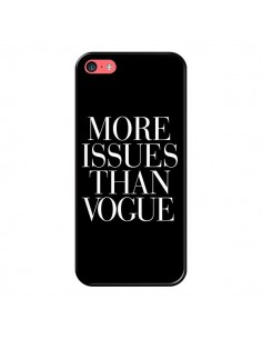 Coque More Issues Than Vogue pour iPhone 5C - Rex Lambo