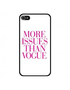 Coque More Issues Than Vogue Rose Pink pour iPhone 4 et 4S - Rex Lambo