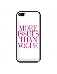 Coque More Issues Than Vogue Rose Pink pour iPhone 5/5S et SE - Rex Lambo