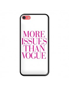 Coque iPhone 5C More Issues Than Vogue Rose Pink - Rex Lambo