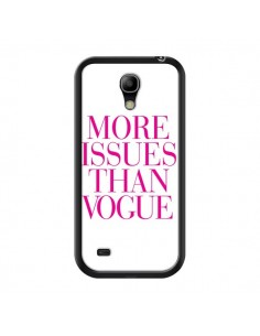 Coque More Issues Than Vogue Rose Pink pour Samsung Galaxy S4 Mini - Rex Lambo