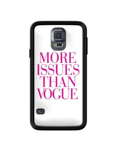 Coque More Issues Than Vogue Rose Pink pour Samsung Galaxy S5 - Rex Lambo