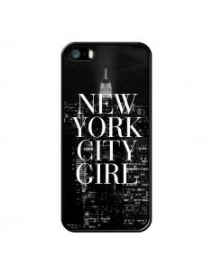 Coque iPhone 5/5S et SE New York City Girl - Rex Lambo