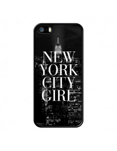 Coque New York City Girl pour iPhone 5/5S et SE - Rex Lambo