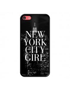 Coque iPhone 5C New York City Girl - Rex Lambo