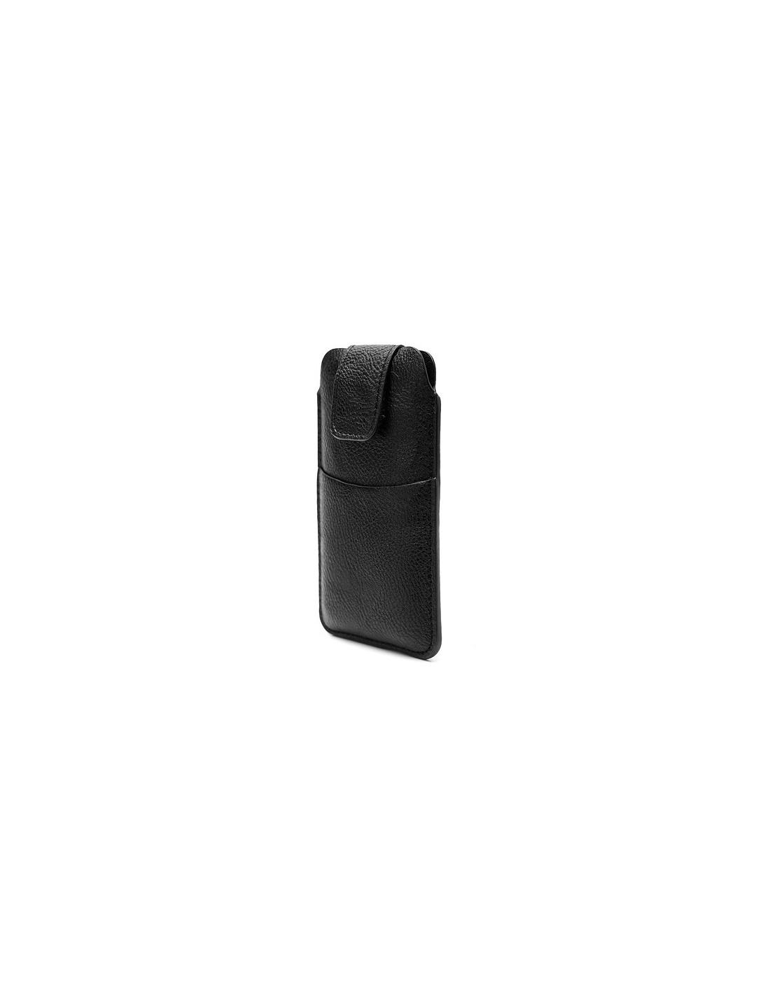 etui housse confort en cuir pour iphone 5 5s et se coques. Black Bedroom Furniture Sets. Home Design Ideas