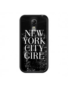 Coque New York City Girl pour Samsung Galaxy S4 Mini - Rex Lambo