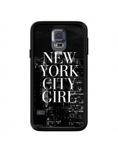 Coque New York City Girl pour Samsung Galaxy S5 - Rex Lambo