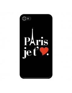 Coque iPhone 4 et 4S Paris je t'aime - Rex Lambo
