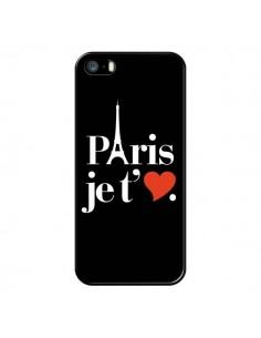 Coque iPhone 5/5S et SE Paris je t'aime - Rex Lambo