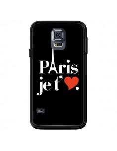 Coque Paris je t'aime pour Samsung Galaxy S5 - Rex Lambo
