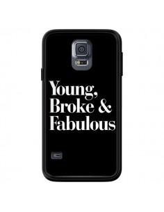 Coque Young, Broke & Fabulous pour Samsung Galaxy S5 - Rex Lambo