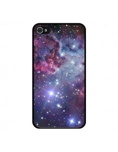 Coque iPhone 4 et 4S Galaxie Galaxy Espace Space - Rex Lambo