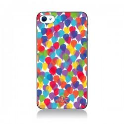 Coque Ballons La Haut pour iPhone 4 et 4S - Enilec