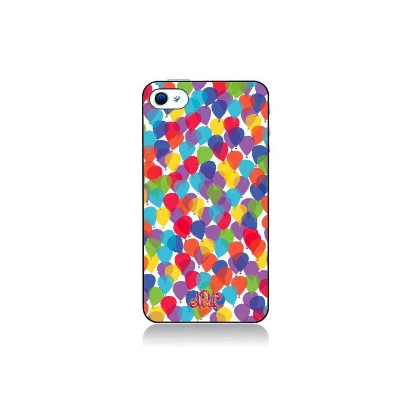 Coque Ballons La Haut pour iPhone 4 et 4S