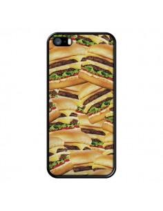 Coque iPhone 5/5S et SE Burger Hamburger Cheeseburger - Rex Lambo