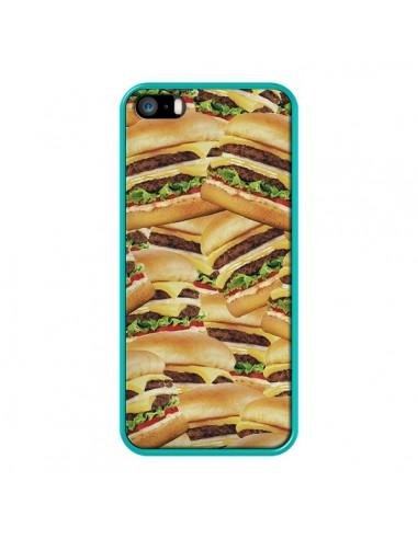 coque iphone 5 5s se burger hamburger cheeseburger rex lambo