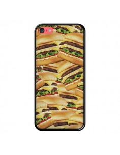 Coque iPhone 5C Burger Hamburger Cheeseburger - Rex Lambo
