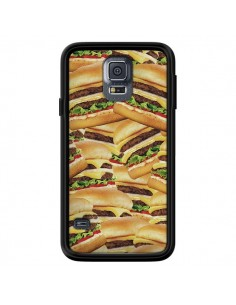Coque Burger Hamburger Cheeseburger pour Samsung Galaxy S5 - Rex Lambo