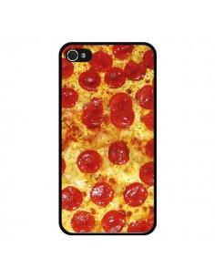Coque iPhone 4 et 4S Pizza Pepperoni - Rex Lambo
