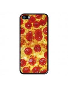 Coque iPhone 5/5S et SE Pizza Pepperoni - Rex Lambo