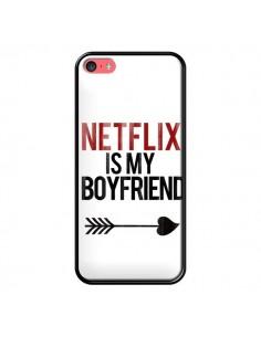 Coque iPhone 5C Netflix is my Boyfriend - Rex Lambo