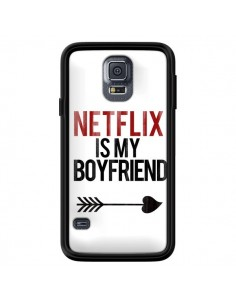 Coque Netflix is my Boyfriend pour Samsung Galaxy S5 - Rex Lambo