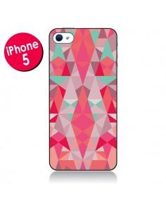 Coque Azteque Rouge pour iPhone 5
