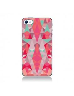 Coque Azteque Rouge pour iPhone 4 et 4S - Leandro Pita