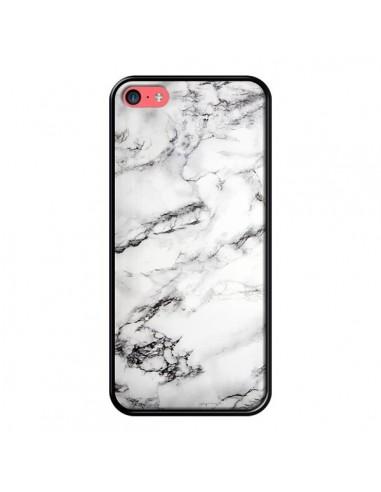coque marbre marble blanc white pour iphone 5c laetitia. Black Bedroom Furniture Sets. Home Design Ideas