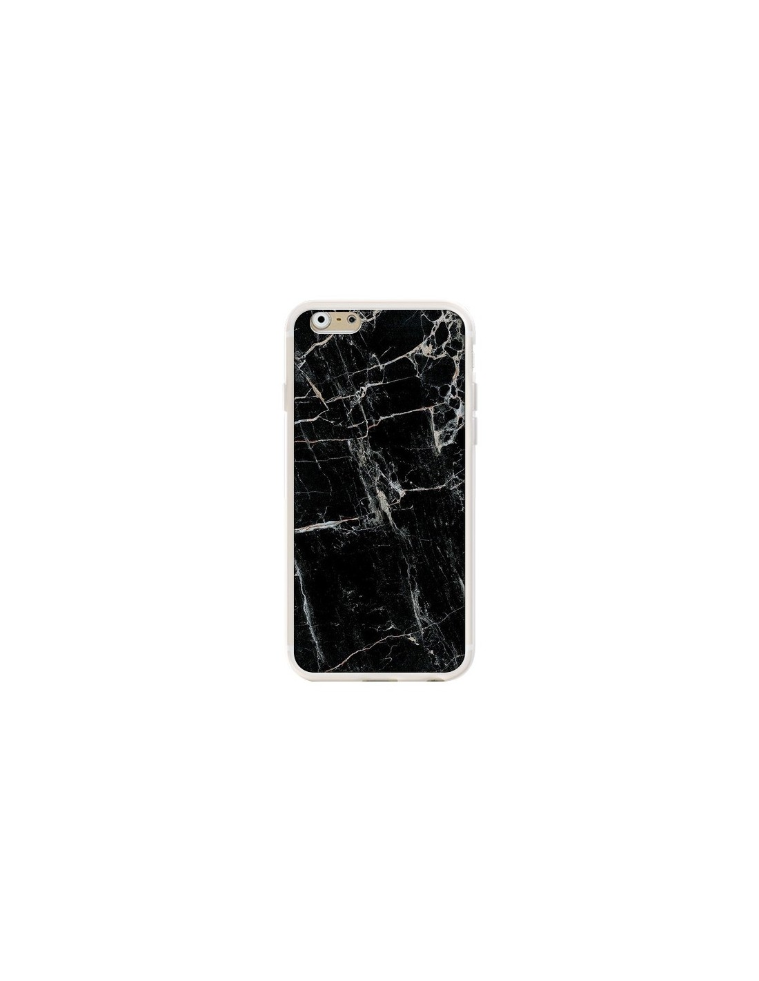 coque marbre marble noir black pour iphone 6 et 6s laetitia. Black Bedroom Furniture Sets. Home Design Ideas