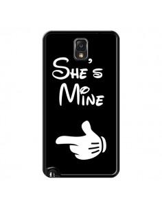Coque She's Mine Elle est à Moi Amour Amoureux pour Samsung Galaxy Note III - Laetitia
